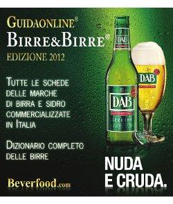 DAB, la bionda Nuda e Cruda, official Beer del 70° Open d'Italia
