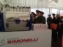 """NUOVA SIMONELLI SULLA PIAZZA ROSSA  PER """"SPECIALTY COFFEE SHOW STARRING BARISTA CHAMPIONS"""""""