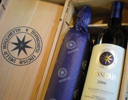 5 vini SUPERTUSCAN nella Top 100 di Wine-Searcher.com, dominata dai vini francesi
