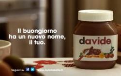 """NUTELLA: Parte la nuova campagna """"Il buongiorno ha un nuovo nome, il tuo"""""""""""