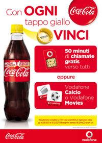 Coca-cola Promozione Vodafone Coca Cola/vodafone Bottiglia Litro