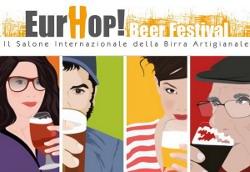 EURHOP BEER FESTIVAL, il Salone Internazionale della Birra Artigianale, a Roma da 18 al 20 ottobre