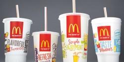 Svolta green per MCDONALD'S:  abbandono dei bicchieri in polistirene e sostituzione con bicchieri di carta