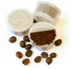 Con la bioplastica Mater-Bi® di IV generazione di NOVAMONT le capsule del caffè sono biodegradabili e compostabili