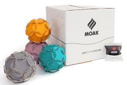 """""""Ecoforme Colours"""" MOAK : le scatole delle cialde si trasformano in oggetti creativi"""