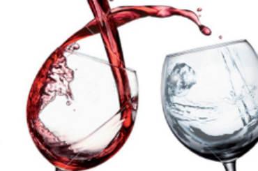 vino & acqua bicchieri