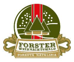 """Il Giardino della Spezialbier-Brauerei FORST apre per accogliere la """"Foresta natalizia""""."""