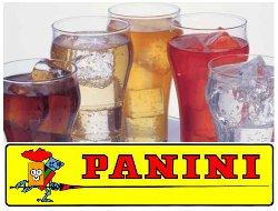 PANINI. leader della figurine, realizzerà una estensione del marchio producendo bibite.