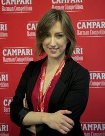 Chiara Beretta è la CAMPARI BARMAN OF THE YEAR