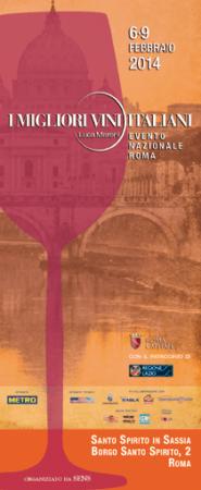 """""""I MIGLIORI VINI D'ITALIA"""": la manifestazione eno-gastronomica di Luca Maroni a Roma dal 6 al 9 febbraio"""
