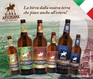 BIRRA ANTONIANA: UN'ECCELLENZA ITALIANA APPREZZATA ANCHE ALL'ESTERO.