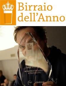 """Luigi """"Schigi"""" D'Amelio è il BIRRAIO DELL'ANNO 2013 – La classifica degli altri birrai eccellenti"""