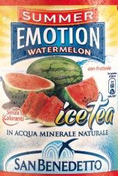 SUMMER EMOTION ICE TEA di San Benedetto eletto prodotto dell'anno 2014