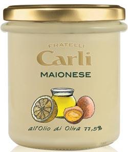 FRATELLI CARLI: presenta la prima Maionese a base di olio di oliva