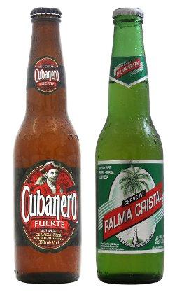 BISCALDI propone le birre Cubanero Fuerte e Palma Cristal, 100% cubane!