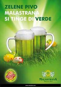 Birra verde, è arrivata la primavera di Malastrana