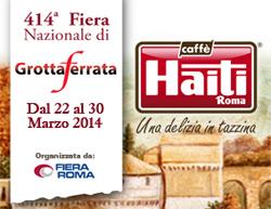 Caffè Haiti Roma alla Fiera Nazionale di Grottaferrata