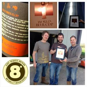 """il birrificio irlandese EIGHT DEGREES Brewing è medaglia di bronzo al """"WORLD BEER CUP"""" di Denver, Colorado – USA"""