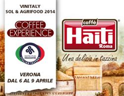 Caffè Haiti Roma a Vinitaly: due eccellenze al banco di assaggio