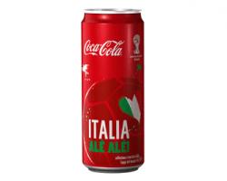 Speciali lattine COCA-COLA dedicate ai paesi vincitori della Coppa del mondo FIFATM