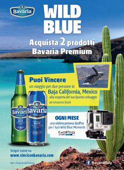 """Bavaria """"Wild Blue"""": nuovo concorso a premi per volare in Baja California"""