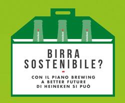 """HEINEKEN Italia: i risultati ottenuti nel 2013 con il piano di sostenibilità """"Brewing a Better Future"""""""