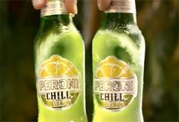 PERONI CHILL LEMON: l'Onda di Birra e Limone nello spot più fresco dell'estate
