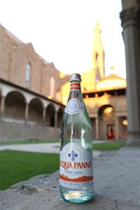 La regione Toscana riconosce ACQUA PANNA prodotto 100% Toscano