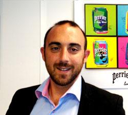 PERRIER: Nicolas Szczurkowski è il nuovo brand development manager per l'Italia