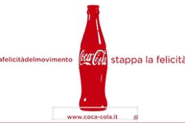 Stappa la felicità con Coca Cola