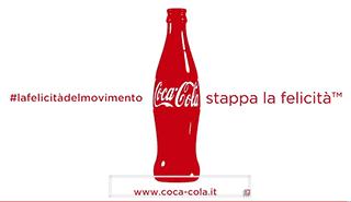 Stappa la felicità con Coca Cola!