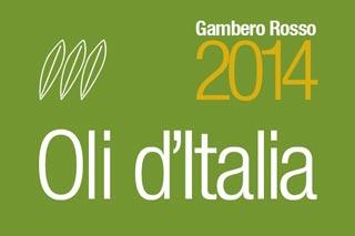 GUIDA OLI D'ITALIA 2014 del Gambero Rosso; i Premi Speciali e le Tre foglie 2014