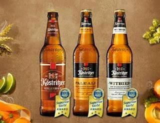 Le birre KÖSTRITZER premiate con il Superior Taste Award