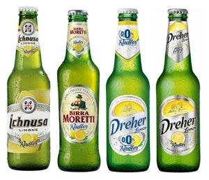 Il boom delle RADLER, le originali bevande mix birra & limone