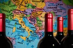 ISMEA: in calo gli scambi internazionali di vino nel primo trimestre 2014, a causa del crollo del vino sfuso.