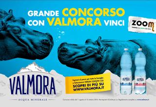 """Dal 1 agosto parte il  """"Grande concorso con VALMORA vinci Zoom"""""""