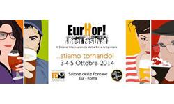 Ritorna EURHOP BEER FESTIVAL, il Salone Internazionale della Birra Artigianale a Roma