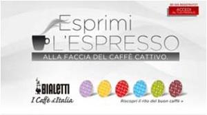 """Nuovo concorso Bialetti """"ESPRIMI L'ESPRESSO"""""""