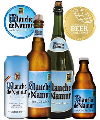 BLANCHE DE NAMUR, la bière blanche d'oro… in alluminio!