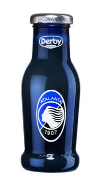 Bottiglia speciale DERBY BLU per i tifosi dell'Atalanta