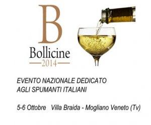 """Ritorna """"BOLLICINE"""", l'evento nazionale dedicato agli spumanti italiani"""