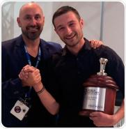 BRITA PROFESSIONAL sponsorizza Christian Ullrich, campione del mondo di Latte Art