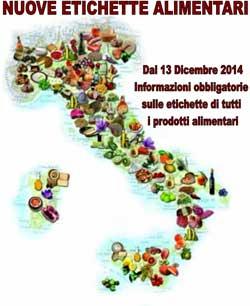 Dal 13.12.2014 ETICHETTE PRODOTTI ALIMENTARI tutte da rifare: PRIMETEC offre le soluzioni più flessibili