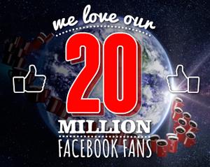 NESCAFÉ supera i 20 milioni di fan su Facebook