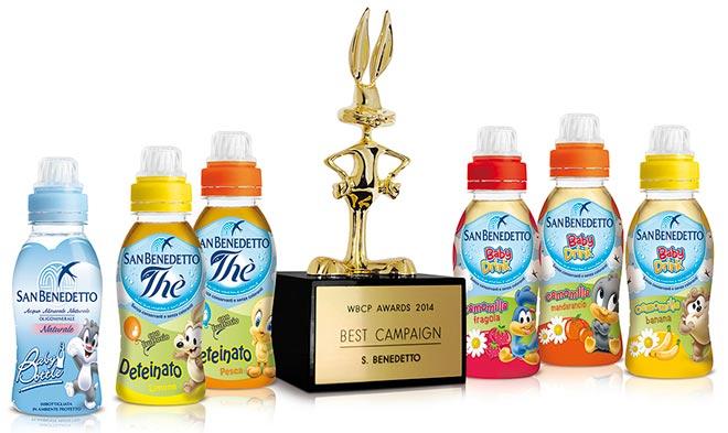 Premio Warner Bros baby drink San Benedetto KIDS
