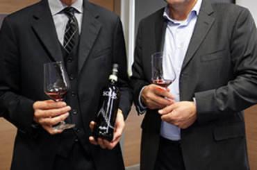 Casimiro Maule Direttore Nino Negri e Davide Mascalzoni, Direttore Generale Gruppo Italiano Vini