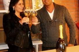 Romina Tonus e il marito Ivano Camilotto di Dogarina