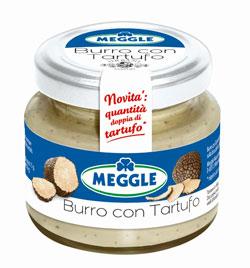 BURRO CON TARTUFO di MEGGLE: nuova ricetta contenente la doppia quantità di tartufo