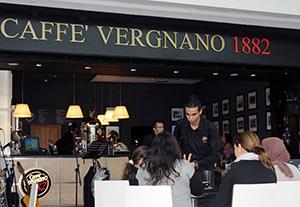 Sono già 76 i Coffee Shop 1882 di CAFFE' VERGNANO. Nel 2015 è prevista l'apertura anche in Brasile
