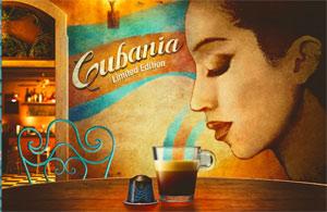 Limited edition NESPRESSO CUBANIA: corpo intenso, forte bouquet aromatico